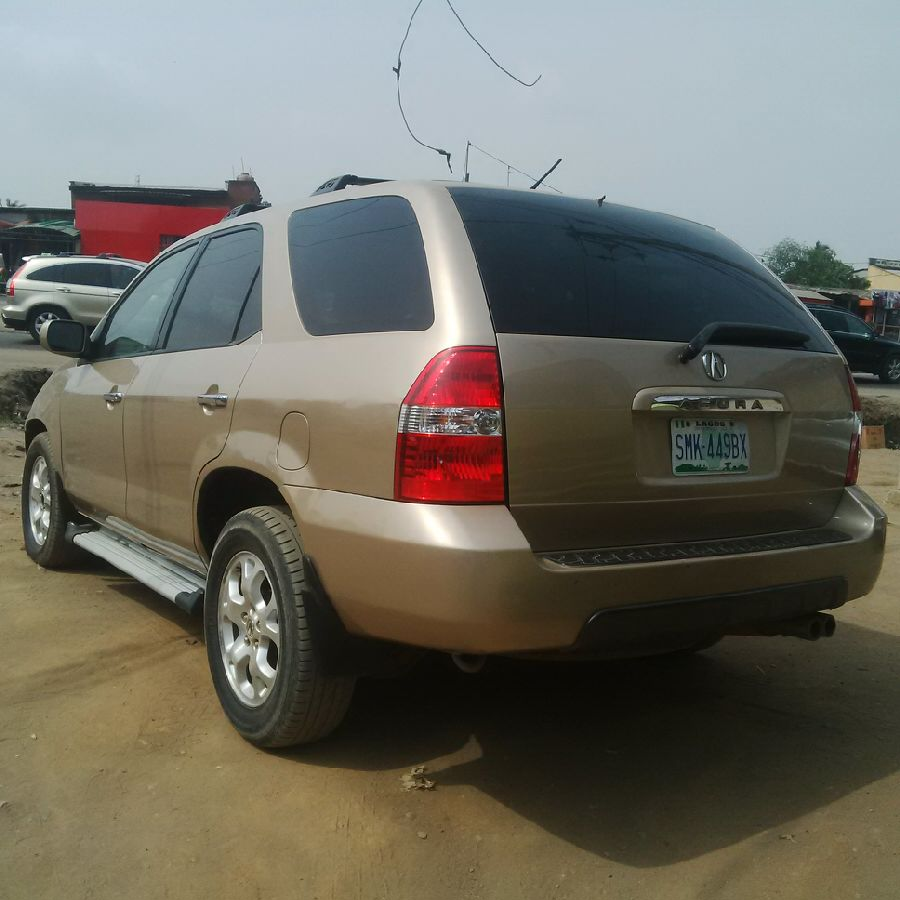 Registered Acura MDX