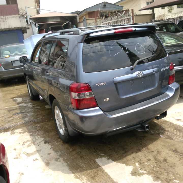 toyota highlander 2005model limited edition autos nigeria. Black Bedroom Furniture Sets. Home Design Ideas