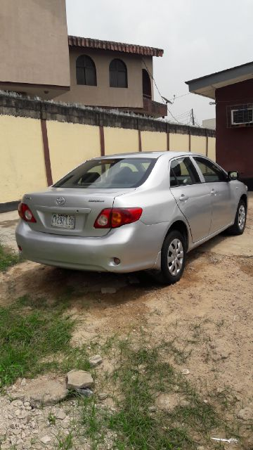 2008 toyota corolla manual gear 980k autos nigeria. Black Bedroom Furniture Sets. Home Design Ideas