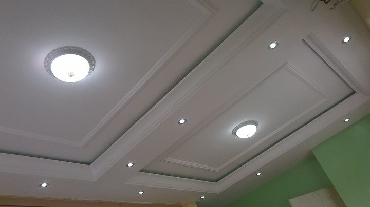 Modern Pop Ceilings Plus Interior Finishing And Many More Process Pictures Properties Nigeria