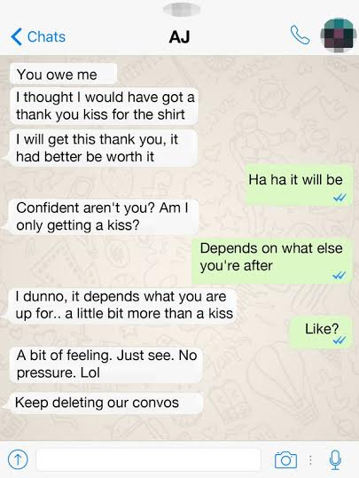 chatting up a girl via text How to have phenomenal conversations with girls written by you'll end up being just her full feed updates whenever a new article is posted subscribe via rss.