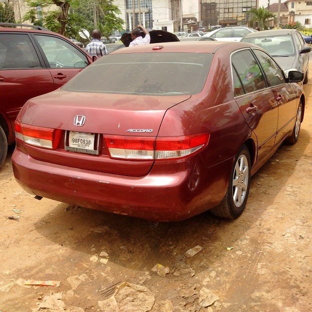 2004 model honda accord ex l with v6 engine autos nigeria. Black Bedroom Furniture Sets. Home Design Ideas