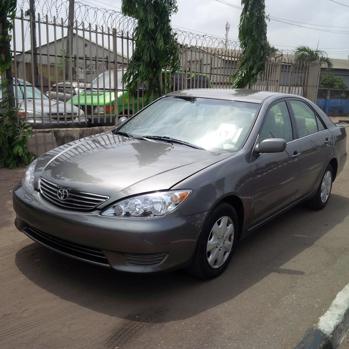 s o l d tin can cleared 2006 toyota camry 3934. Black Bedroom Furniture Sets. Home Design Ideas