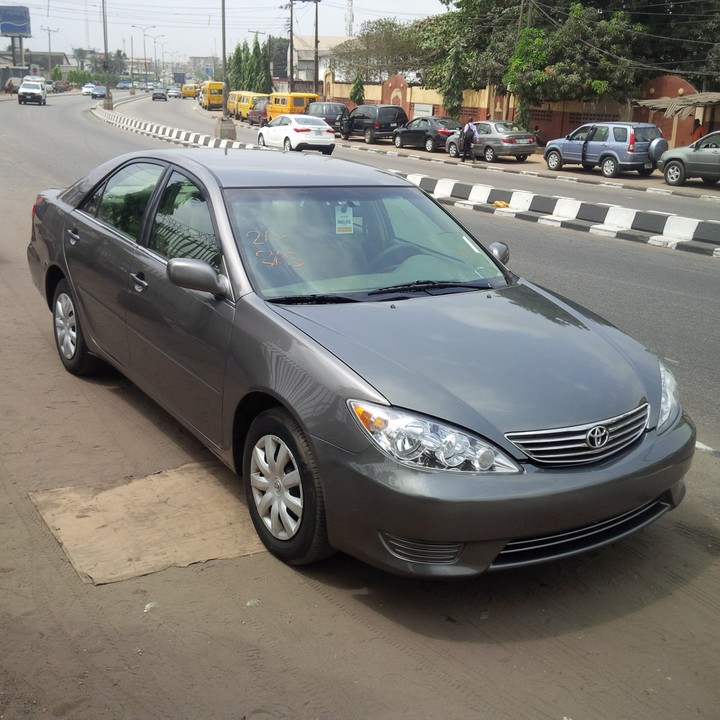 s o l d tin can cleared 2006 toyota camry 3934 autos nigeria. Black Bedroom Furniture Sets. Home Design Ideas