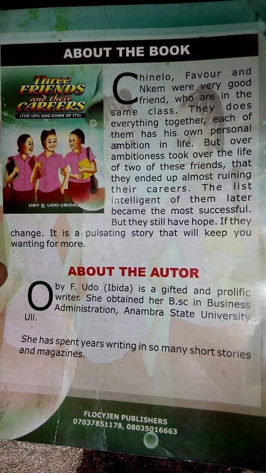 Shocking: See What A Graduate Wrote As Summary Of A Book For Children