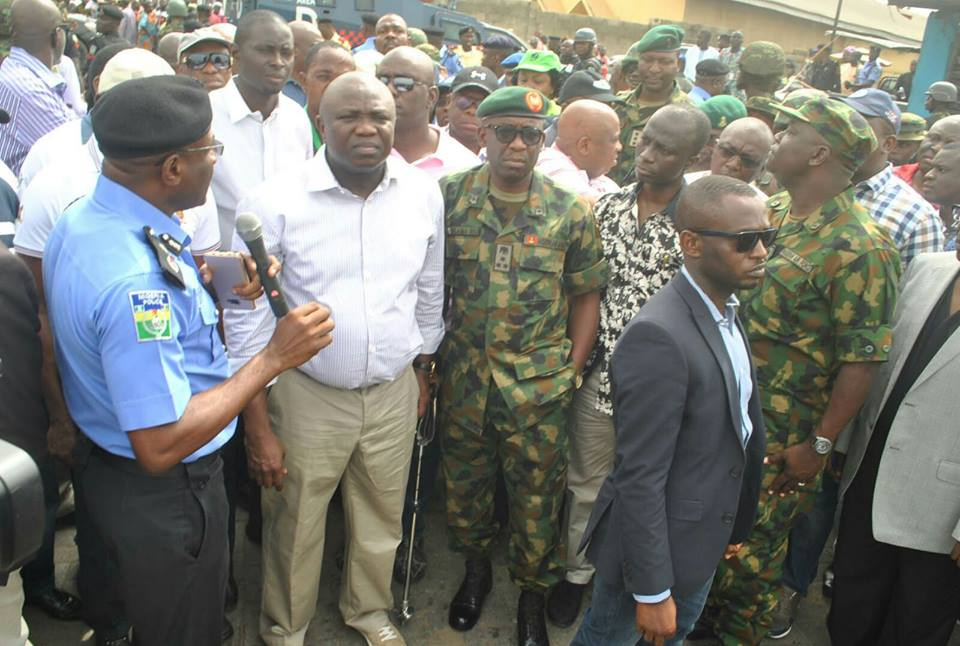 PHOTOS: Ambode Visits Scene Of Hausa And Yoruba Fight In Mile 12