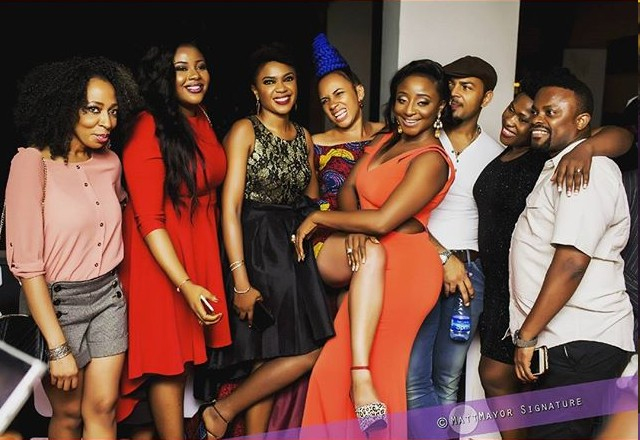 Nollywood Stars At 2016 AMVCA After-party(photos)