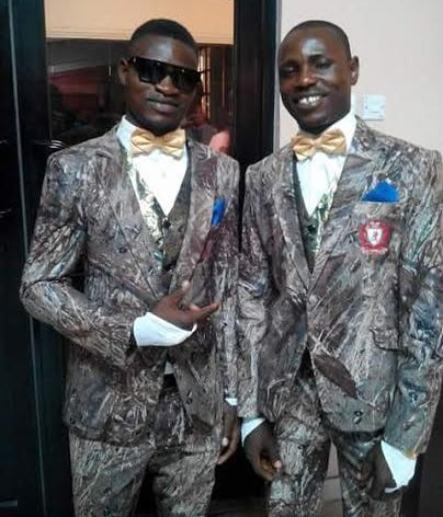 The Funny Suit This Man Wore To His Wedding...