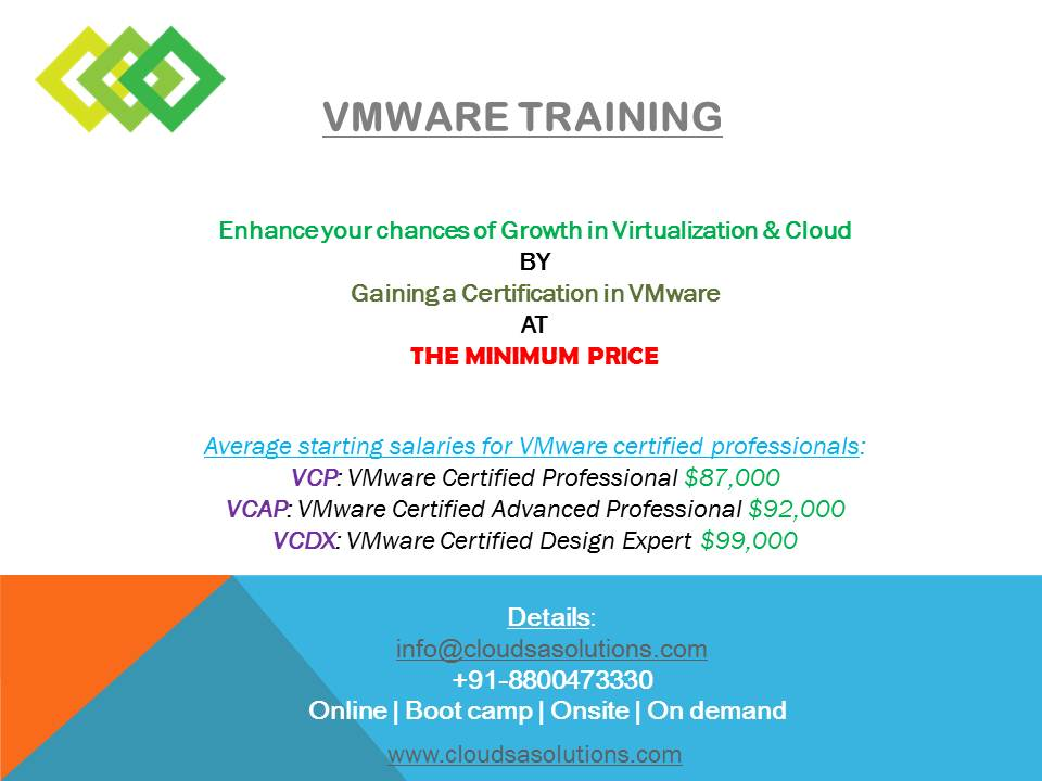 Vcp Certification Sciencetechnology Nigeria