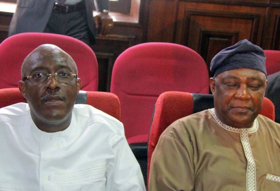 Badeh, Metuh Sit Beside Each Other In Court