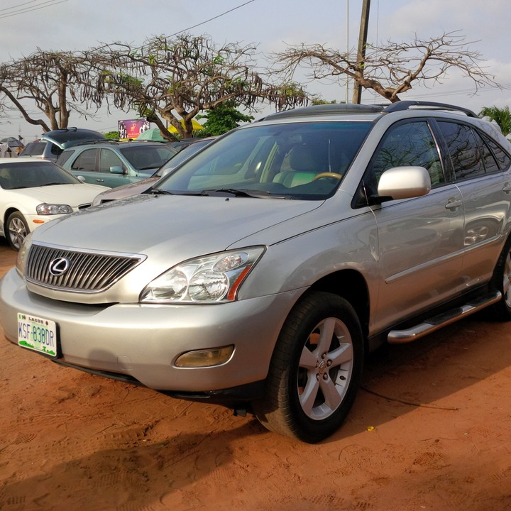 2007 lexus rx350 registered full options for sale autos nigeria. Black Bedroom Furniture Sets. Home Design Ideas