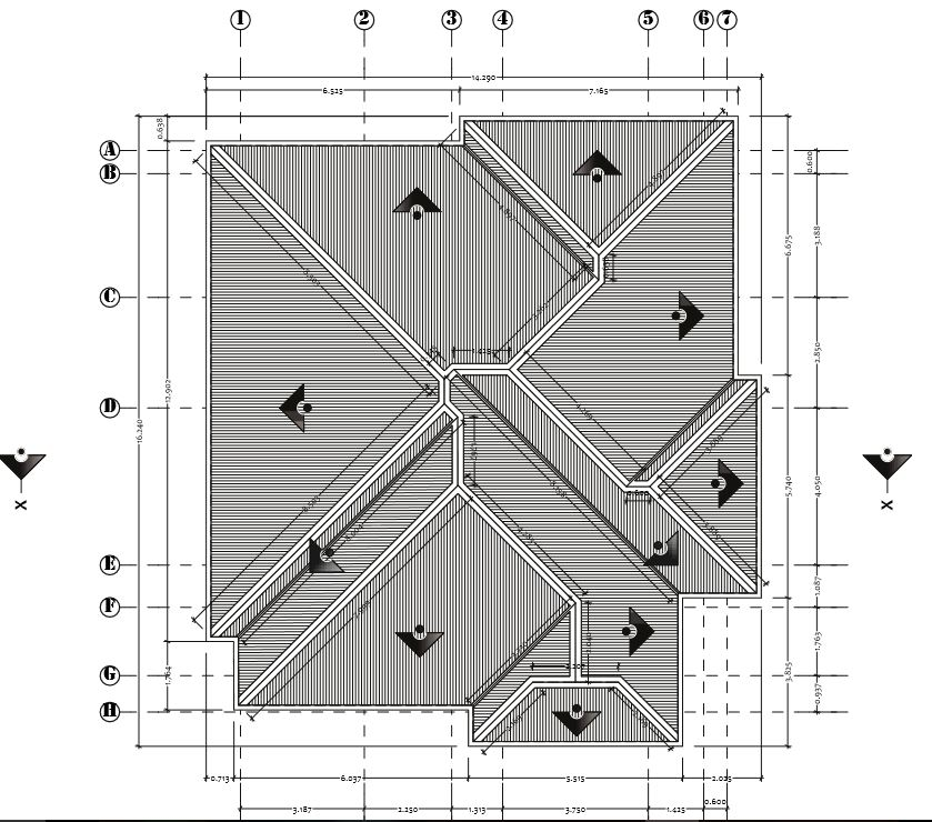 Roofing a 3 bedroom block of 4 flat in lagos properties for Concrete flat roof house plans