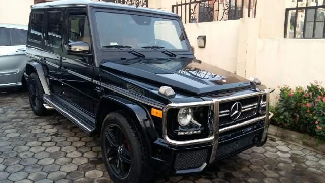 Sold Direct Tokunbo Mercedes Benz G Wagon Modified With