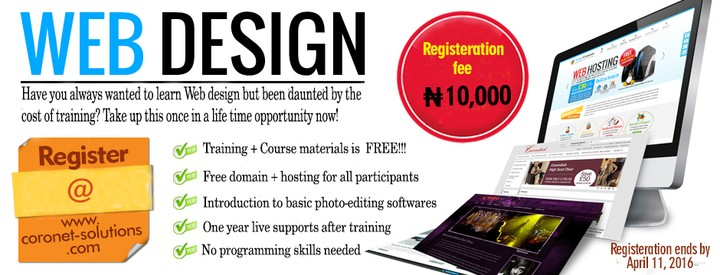 website design training free