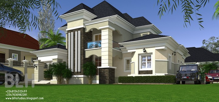Cost to build 5 bedroom bungalow with penthouse ibadan for Cost of building a 4 bedroom bungalow in nigeria 2017