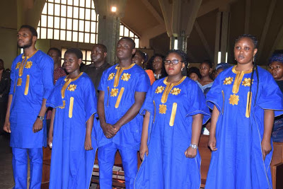 Photos From The Service Of Songs Held For James Ocholi, Wife And Son last night