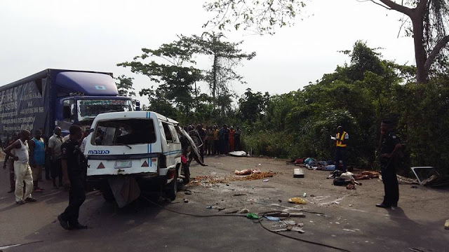 Image result for 10 die in Lagos-Ibadan Expressway crash