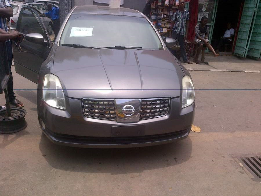 nissan maxima 05 for sale asking autos nigeria. Black Bedroom Furniture Sets. Home Design Ideas