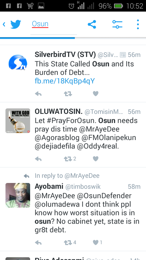 Osun State's Federal Allocation By December 2016 Will Be
