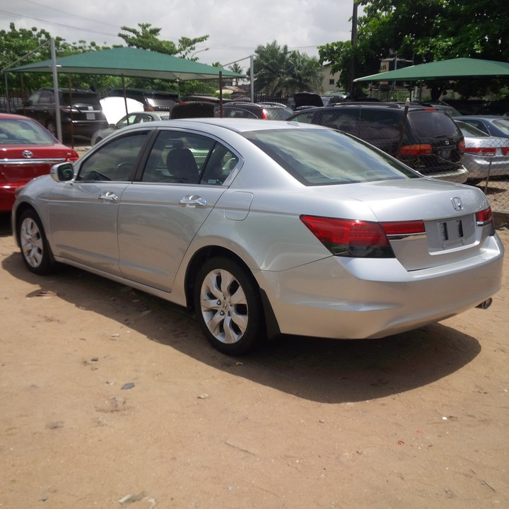 2011 Honda Accord Ex Tokunbo Buy And Drive Pristine To