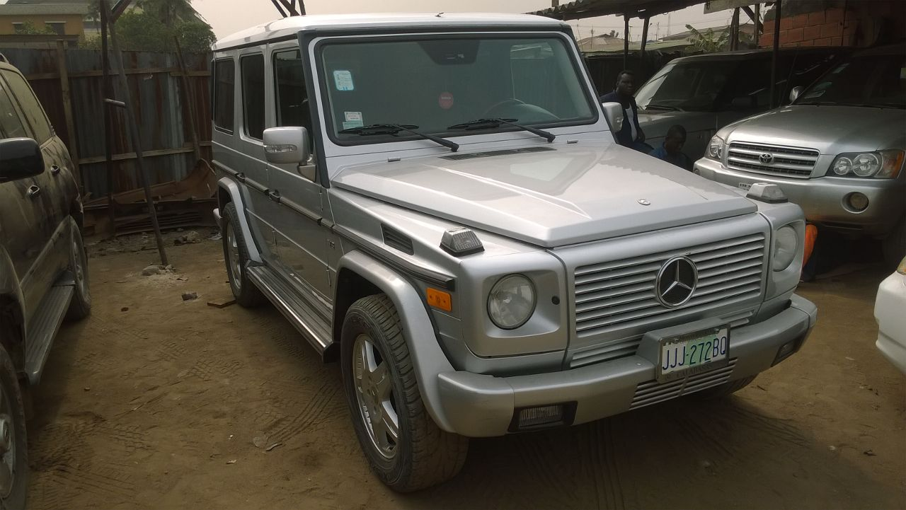 used mercedes bez g500 g wagon ay auto 09050000599 or 08067302797 autos nigeria. Black Bedroom Furniture Sets. Home Design Ideas