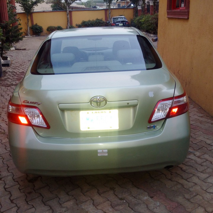 toyota camry hybrid with push button 2007 registered 1. Black Bedroom Furniture Sets. Home Design Ideas