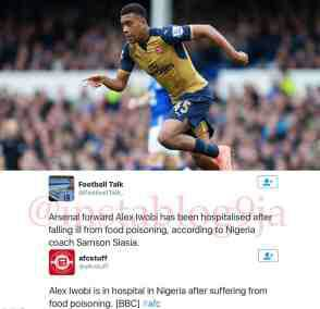 Alex Iwobi Now Fit, Trains With Super Eagles (Photos)