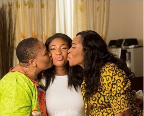 Photo Of Tonto Dikeh With Her In-laws