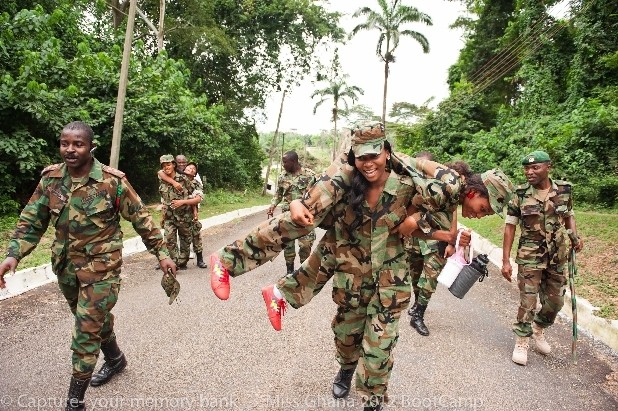 Image result for videos Ghanaian Female Soldiers