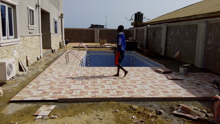 Onoba Meh Ltd Swimming Pool Construction Ongoing Project Pictures Properties Nigeria