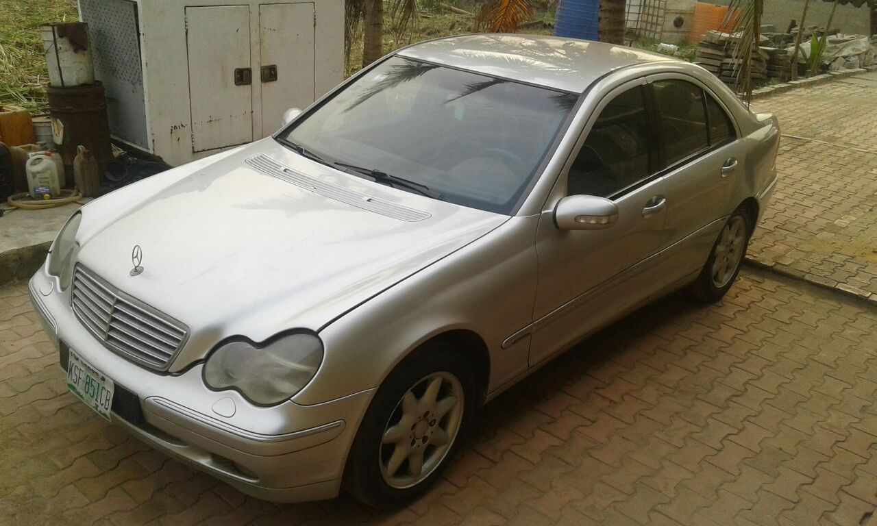Clean mercedes benz c240 at a giveaway price autos nigeria for Mercedes benz giveaway