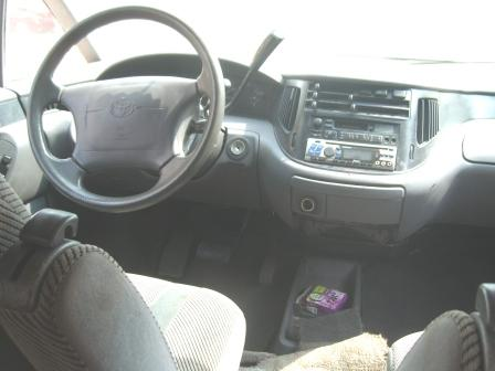 Elizabeth Smart Fashion Toyota Previa 2010 Interior