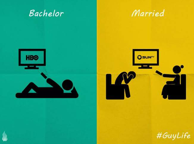 differences between married and single life