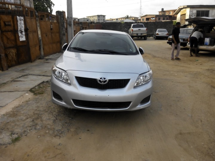 A Very Clean Toyota Corolla For Sale