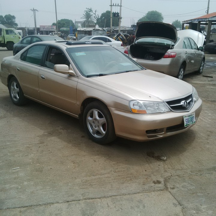 Neat Used Acura T.L.Salon Car #650k 2003model