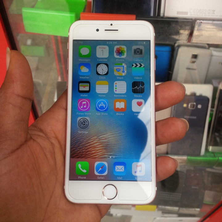 0625f9c4387 Uk Used Iphone 6s 16gb Rose Gold Call 08083817074 - Technology ...