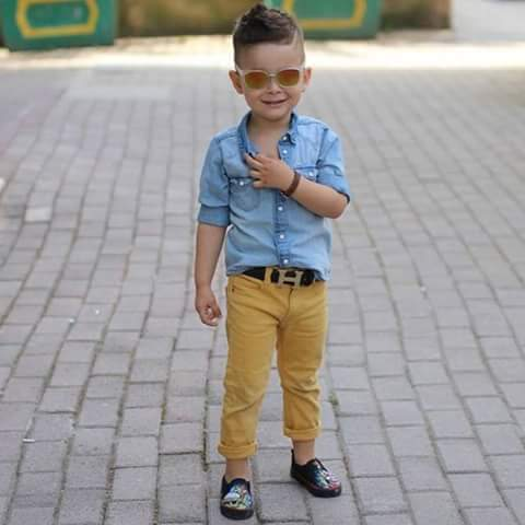 See These Swag Dressing Styles From Cute Kids Photos