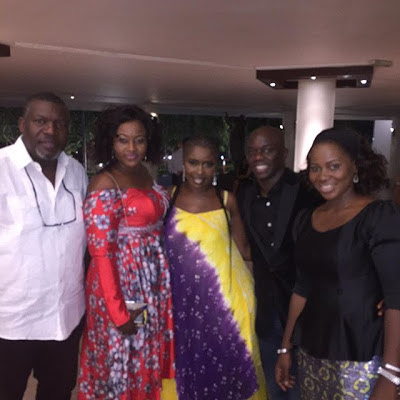 RMD And Wife Host Ays Wife To A Birthday Dinner