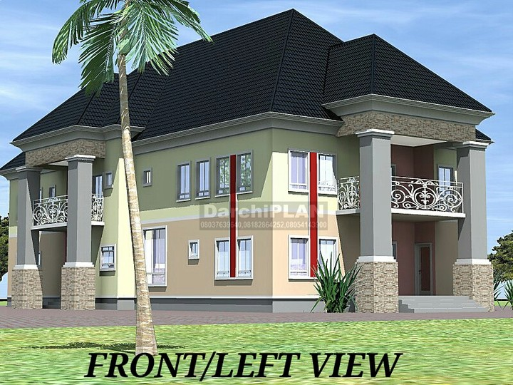 Works of a nairaland architect properties 3 nigeria for 4 bedroom duplex designs in nigeria