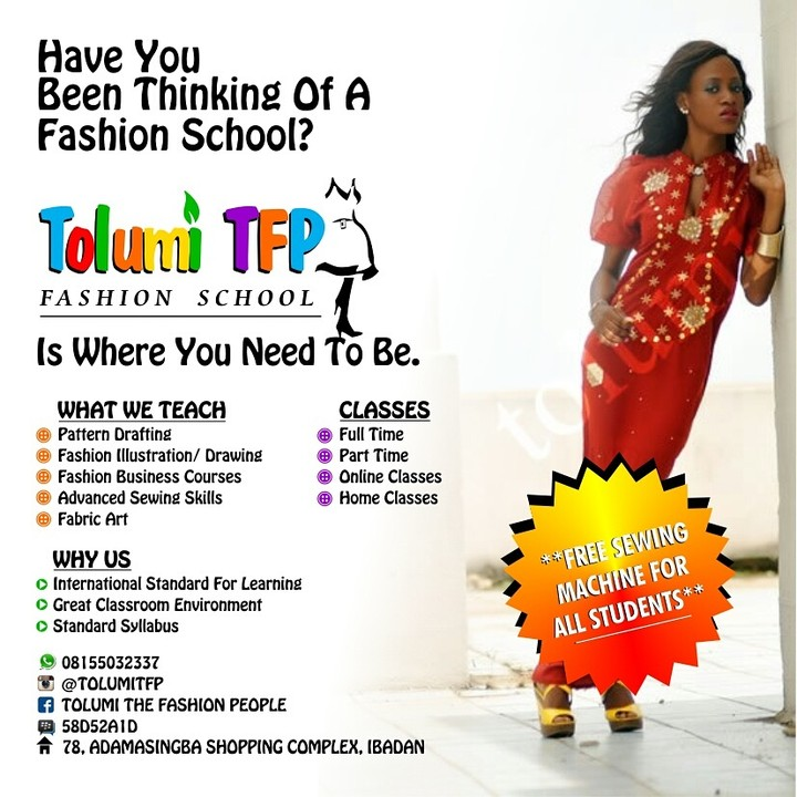 20553e4a7393 Fashion School In Ibadan - Fashion - Nigeria