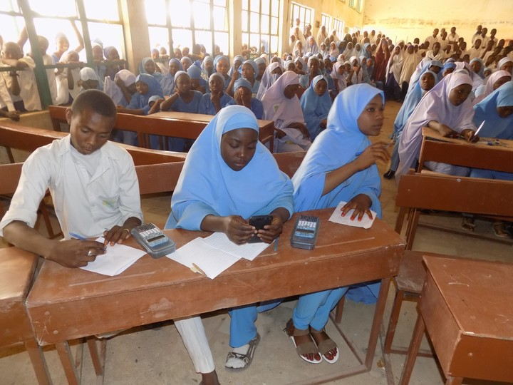 Image result for Nigerian northern school students