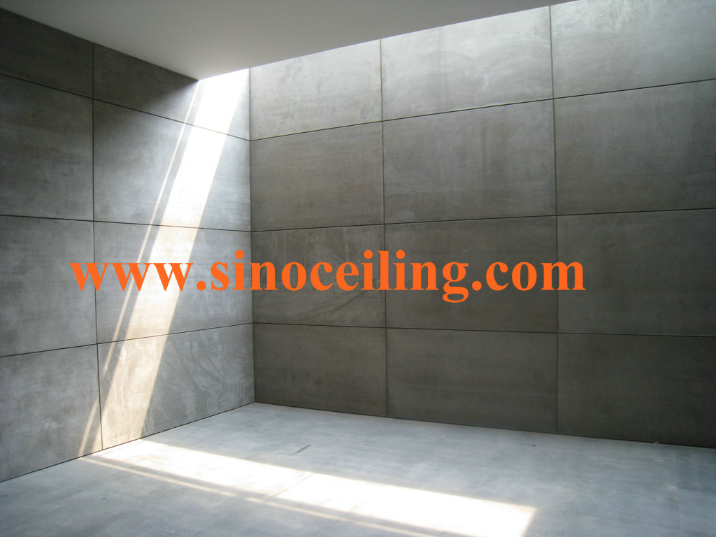 Manufacturing Of Fiber Cement Board By Sinoceiling