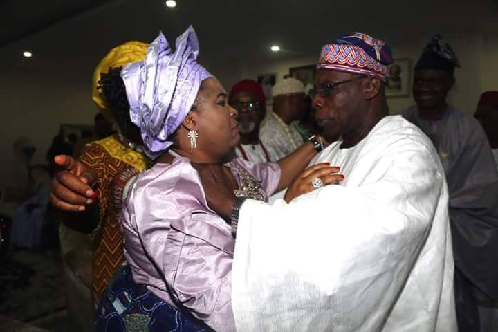 Mama Peace & OBJ Partying Together While Their Followers Are Busy Insulting Themselves