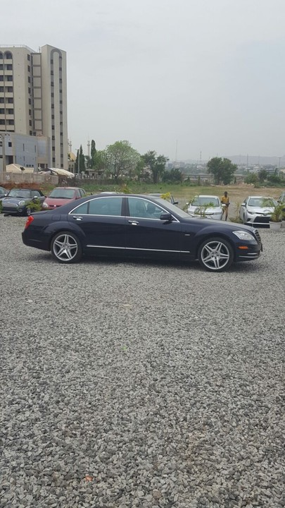 Sold clean reg mercedes benz s550 2009 in abuja for n5 for Mercedes benz 0 apr