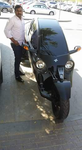 First Fully Covered Bike With Ac Made In India Car Talk