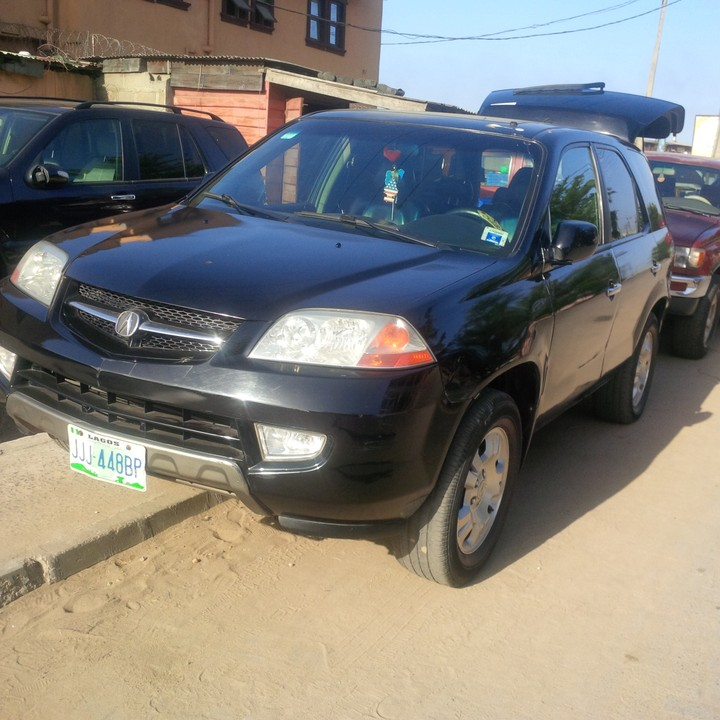 2003 Acura Mdx Registered For Sale