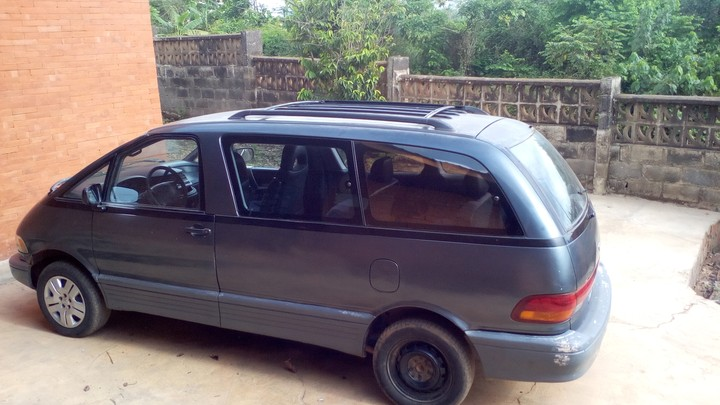 toyota previa manual for sale