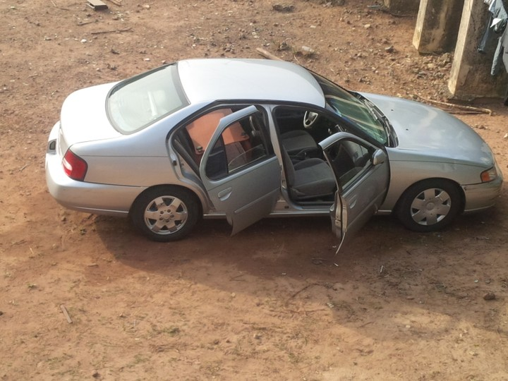 Clean Used Nissan Altima 2000 Model For Sale At Agege Ogba
