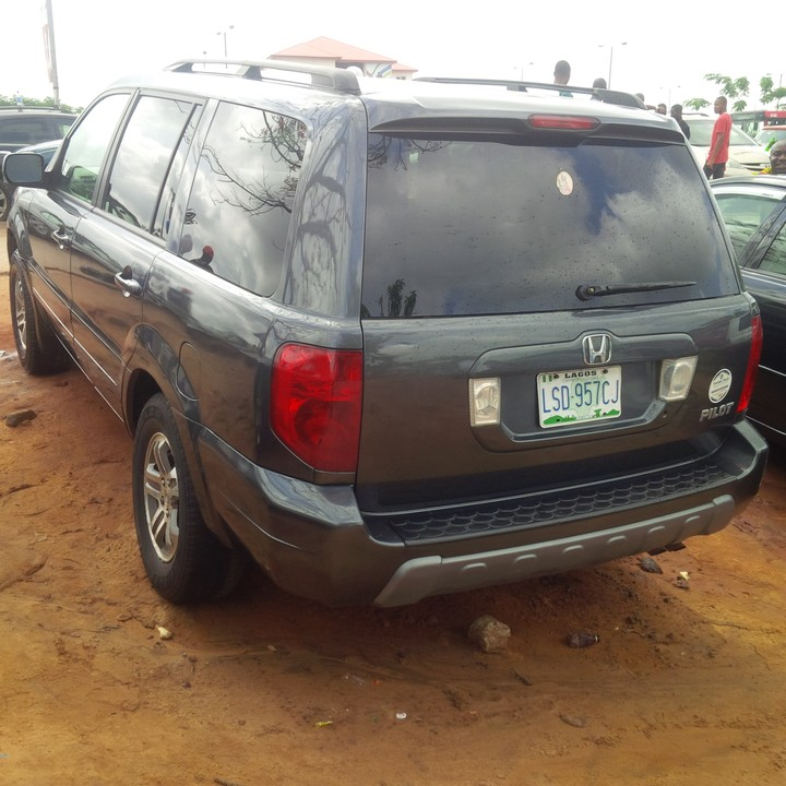 Perfectly Workin Honda Pilot 2004 Model For 1.3m