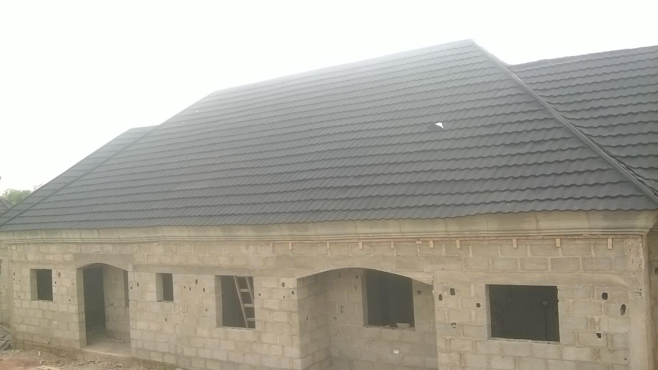 Roofing sheets cost of roofing with stone coated tiles in nigeria best type properties nigeria